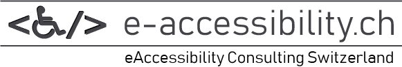 eAccessibility Consulting Switzerland